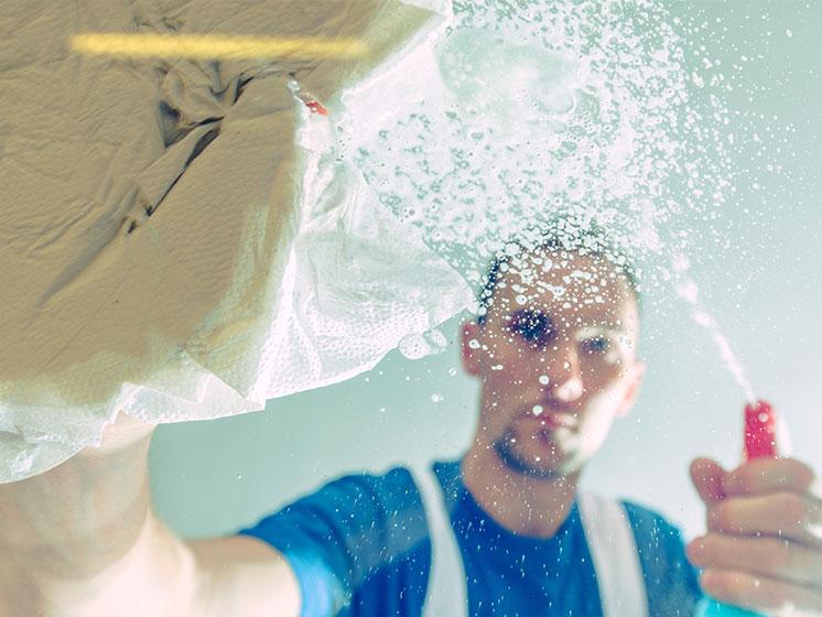 12 consejos para controlar los puntos críticos de limpieza en tu hogar.