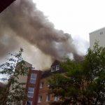¿Qué hacer si hay un incendio en los pisos de debajo de tu departamento?